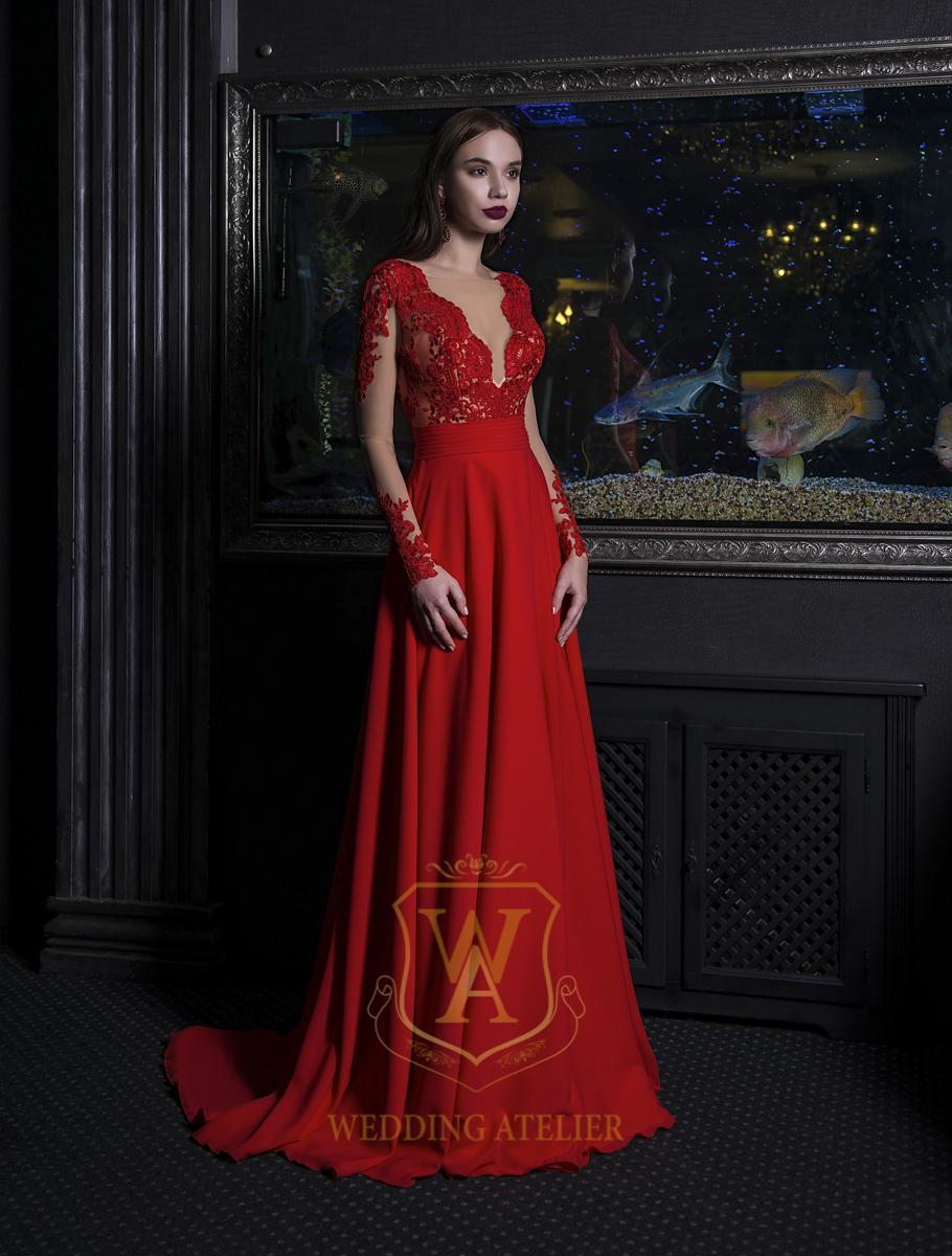 mai multe fotografii noi de înaltă calitate prima vedere Rochie de seară V-153 » Rochii de Mireasa - Wedding Atelier Bucuresti
